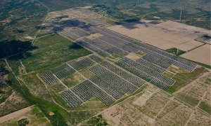 Dual Axis Solar Project in Pecos County Texas