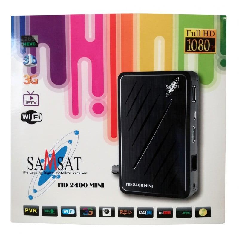 تحديث جديد لجهاز Samsat-HD-2400_MINI النسخة V264 بتاريخ 18-08-2020