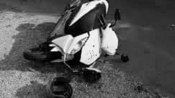 बेलबारी-४ मा स्कुटर दुर्घटना, एकको मृत्यु, दुई घाइते