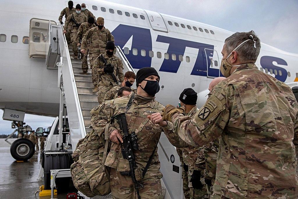 अमेरिकी सैन्य टोली आइपुग्यो अफगानिस्तान