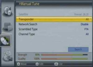 Non Freesat Mode On Humax Foxsat Set Top Boxes