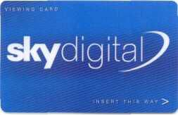 Sky Viewing Cards History Sky Card 2000