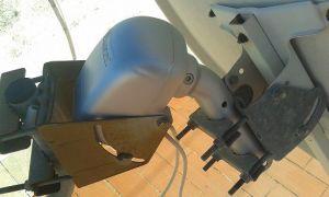 motorised satellite dish systems