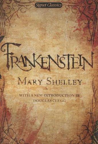 Book: Frankenstein, Mary Shelley