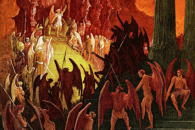 satanism, adversary, values