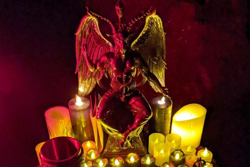 Bay Area Satanists Do Devil's Night at a Distance