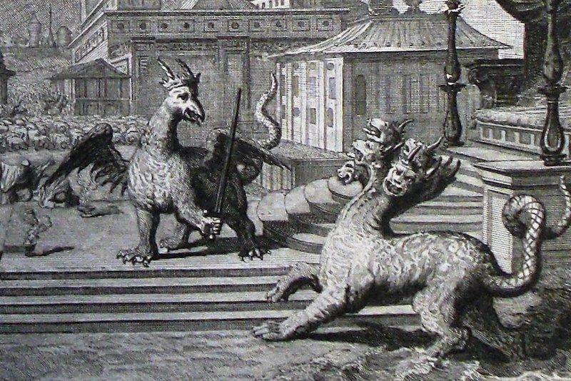 satan horns devil goat