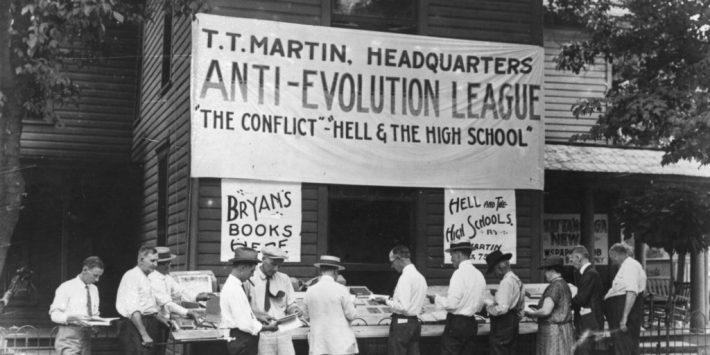 satan darwin evolution