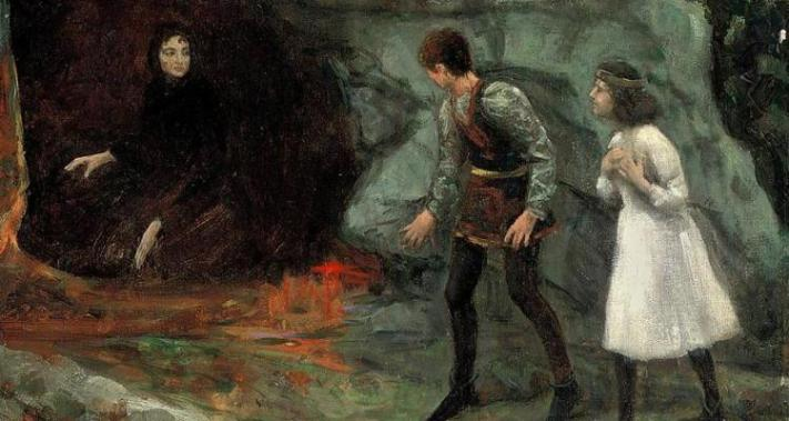 witches binding trump satan