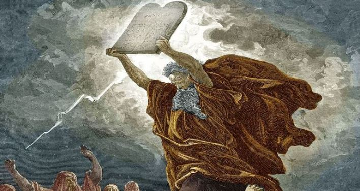 arkansas ten commandments satan
