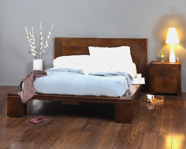 Solid Mango Wood King Size Bed Frame Casa Bella Indian