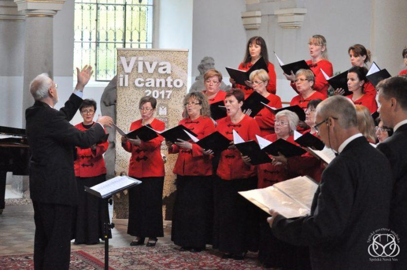 Zúčastnite sa podujatia Viva il canto