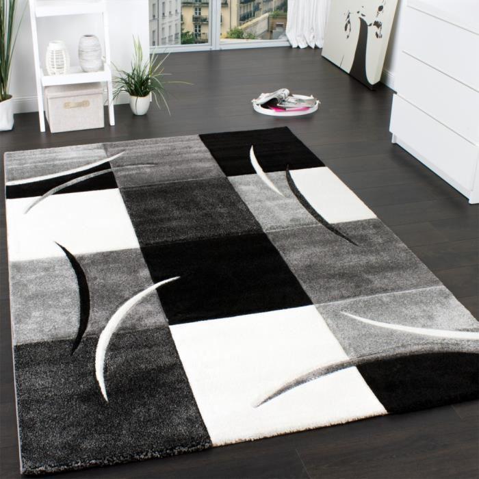 motif geometrique treillis marocain plusieurs coloris tailles casablanca 60 x 100 cm parfait pour la chambre design moderne traditionnel petit tapis de salon noir blanc tapis