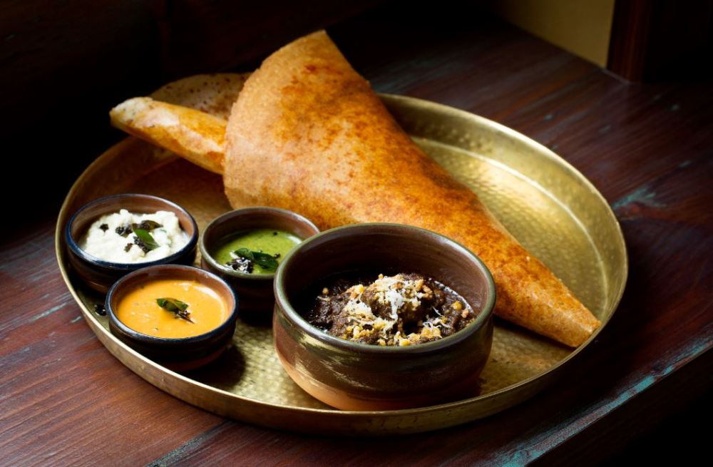 Hoppers is launching its second site in St Christopher's Place this Autumn. Dosa - Sated Online