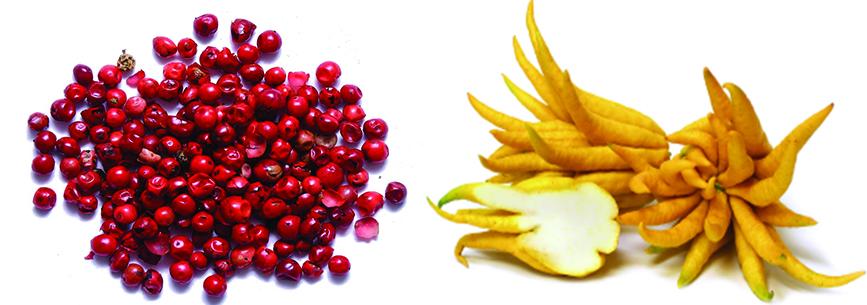 Porter's Gin Pink Peppercorn and Buddha's Hand Botanicals