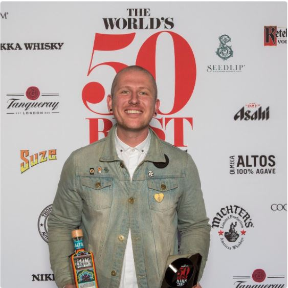 Iain Griffiths Bartender's Bartender The World's 50 Best Bars