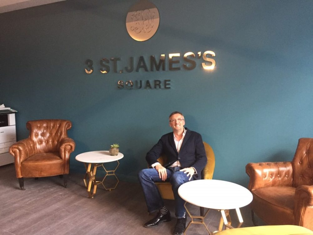 Mark Chambers, Founder of 3 St James's Square Private Members' Club