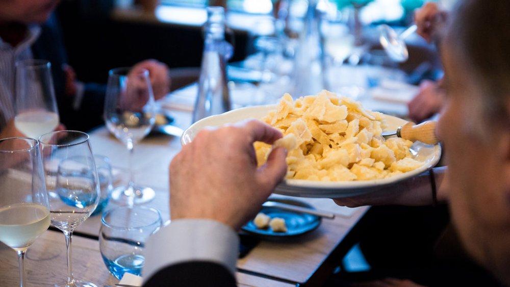 Parmigiano Reggiano Tasting Menu at Magpie