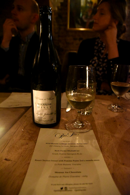 Loire Moments Supper Club at Petit Pois Bistro