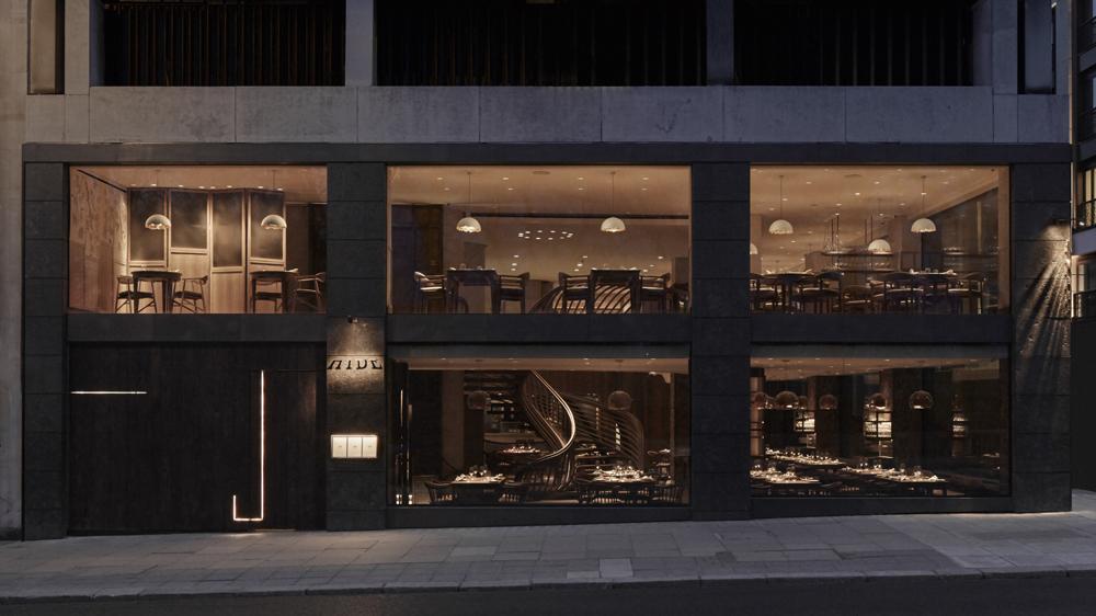 Ollie Dabbous' Hide restaurant