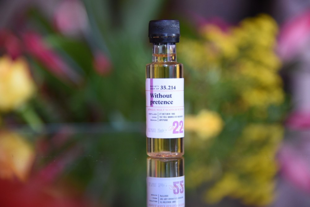 Without Pretense 35th Anniversary Scotch Malt Whisky Society Virtual Tasting