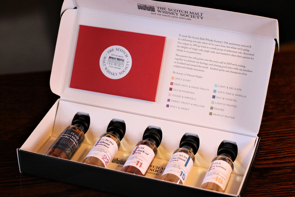 OFFER: 35th Anniversary Scotch Malt Whisky Society Virtual Tasting