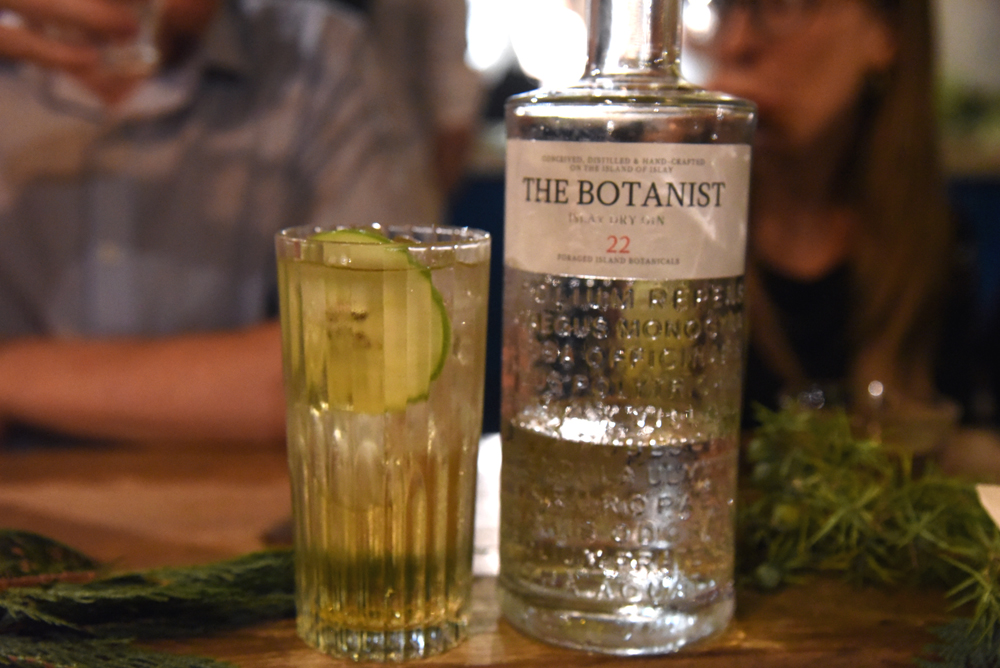 The Botanist Gin's Foragers Table Dinner