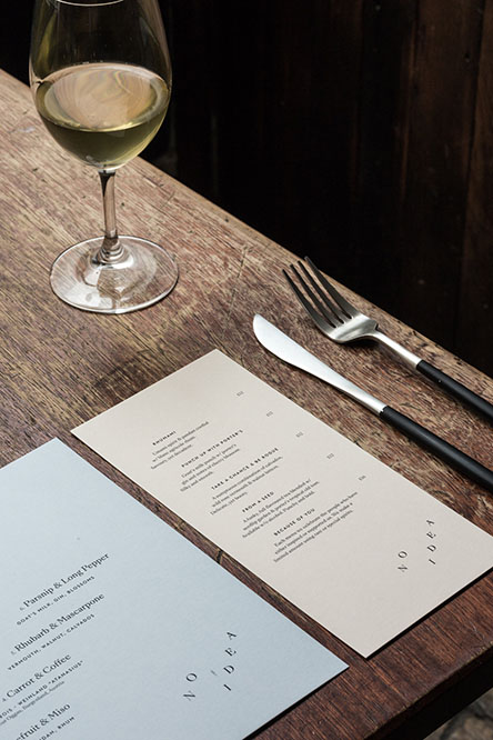 No Idea Restaurant Wine