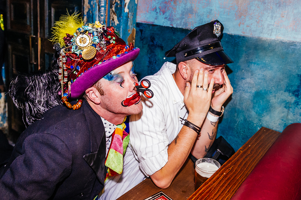 Lagunitas Beer Circus performers clown