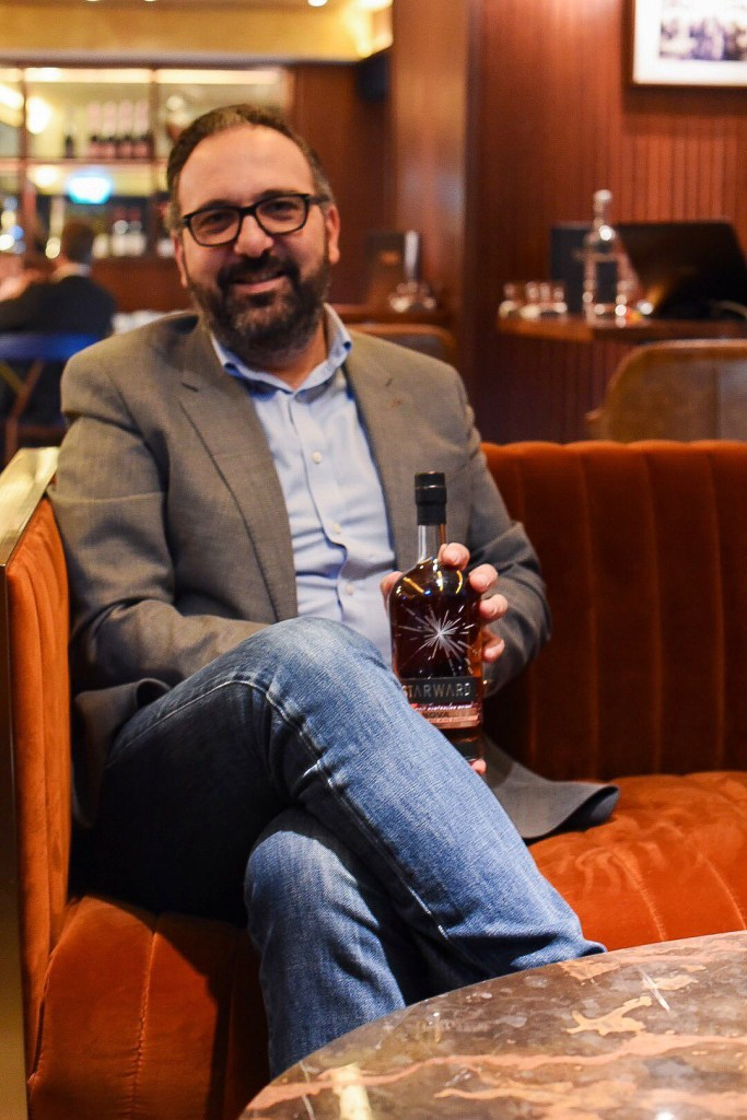 David Vitale, Founder of Starward Whisky, copyrighted Sated Online