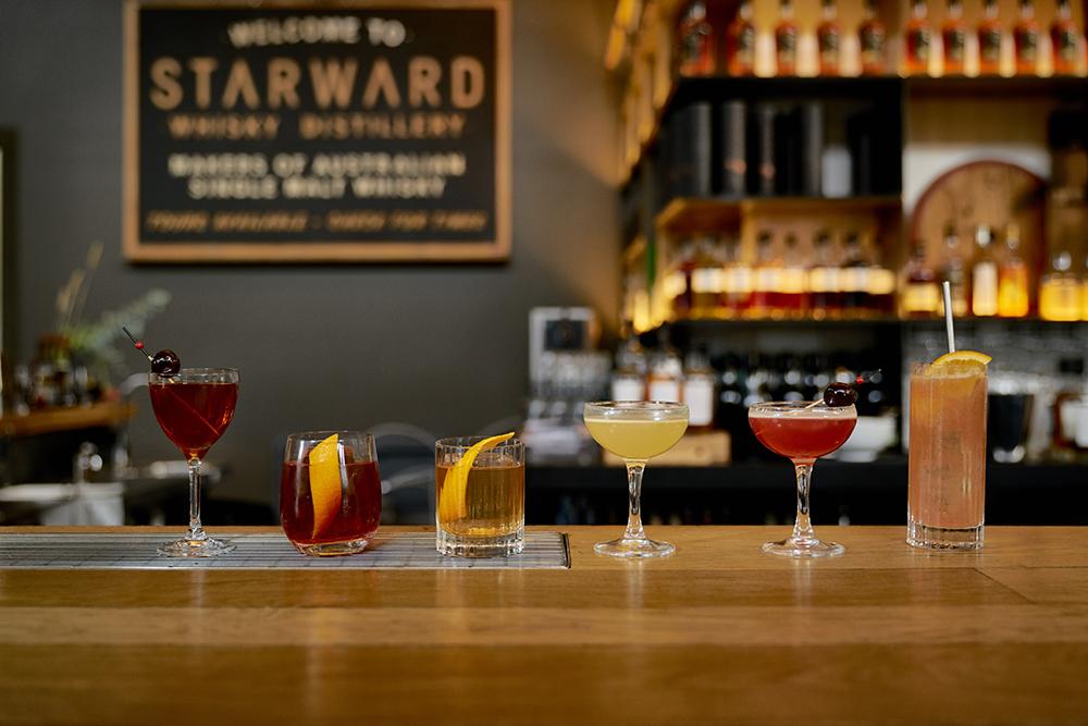Starward serves