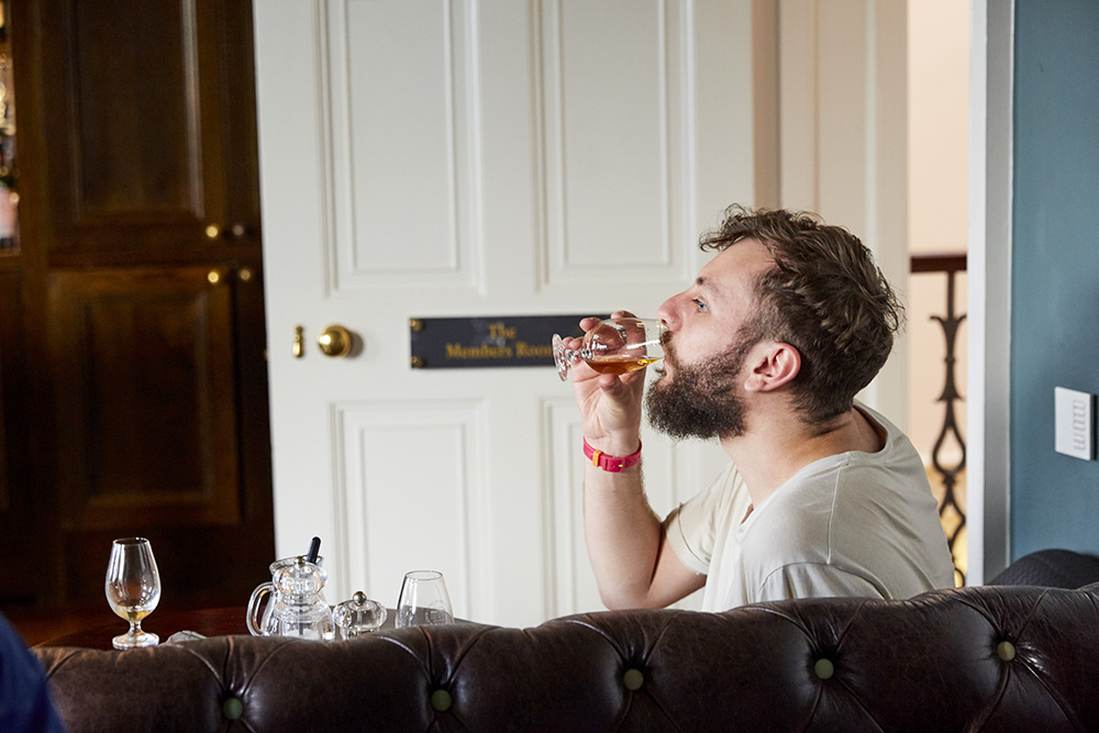 Drinker at SMWS