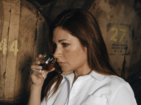 Master Distiller and Master Blender, Gabriela Ayala