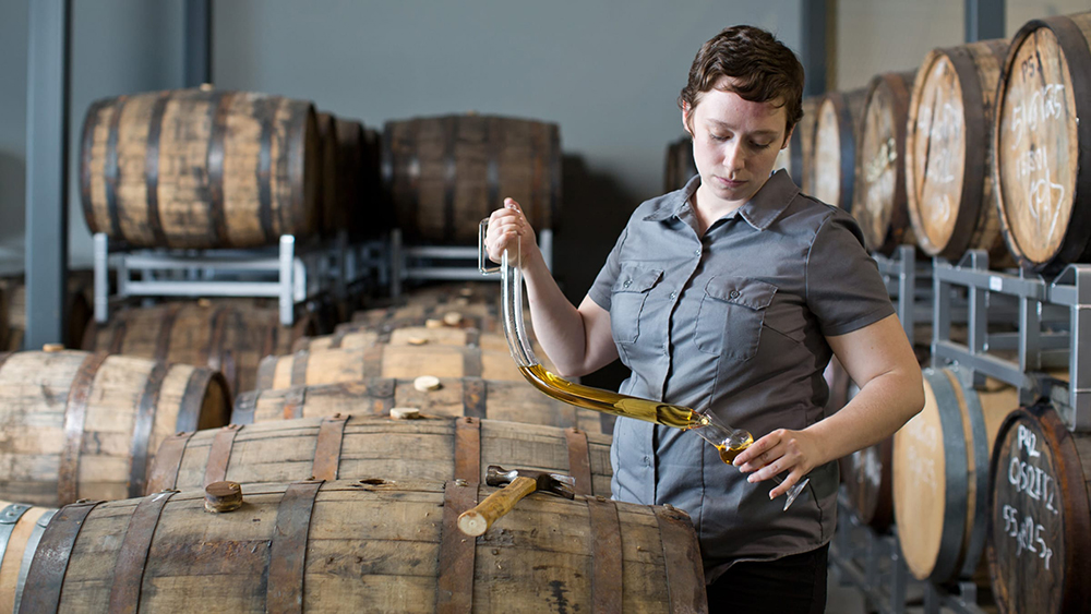Maggie Campbell, President and Head Distiller at Privateer Rum