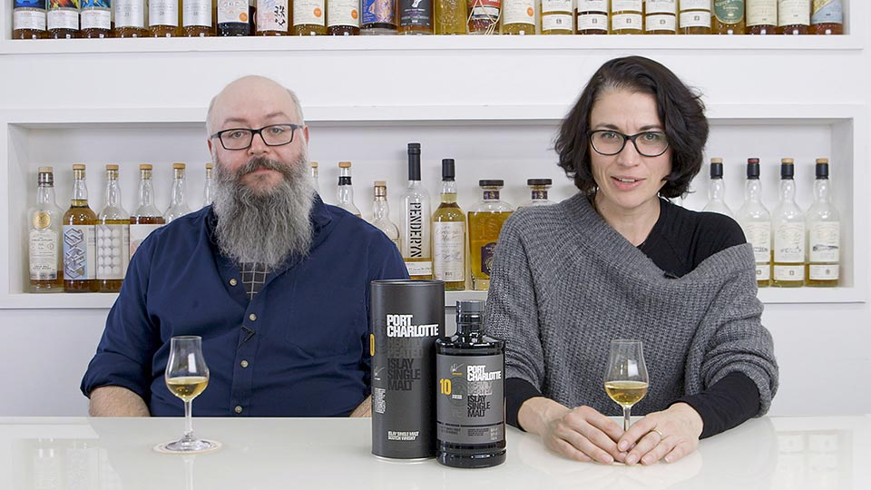 Billy Abbott and Dawn Davies of The Whisky Exchange