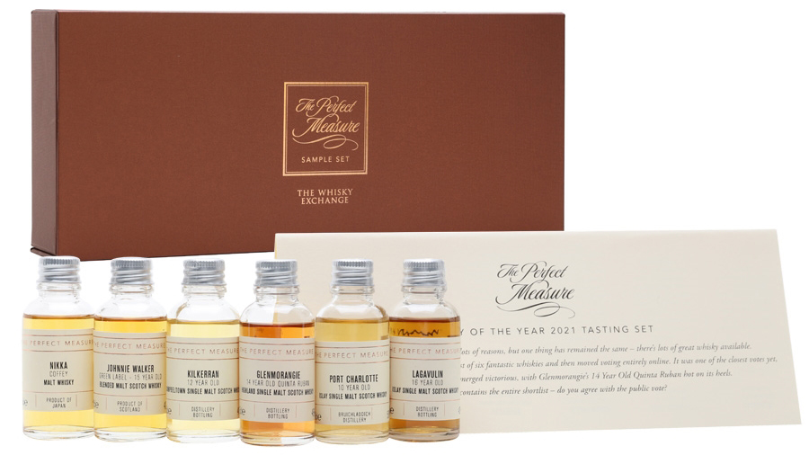 Whisky of the Year 2021 Tasting Set