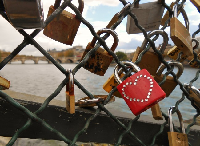 Photo Essay: Love Padlocks in Paris