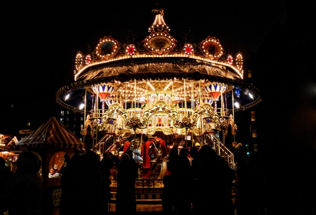 Photo Essay: The Christmas Carousel in Leipzig