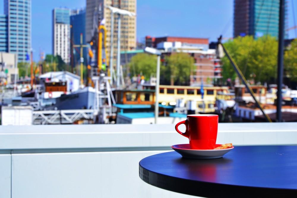 Harbor view, Rotterdam, The Netherlands