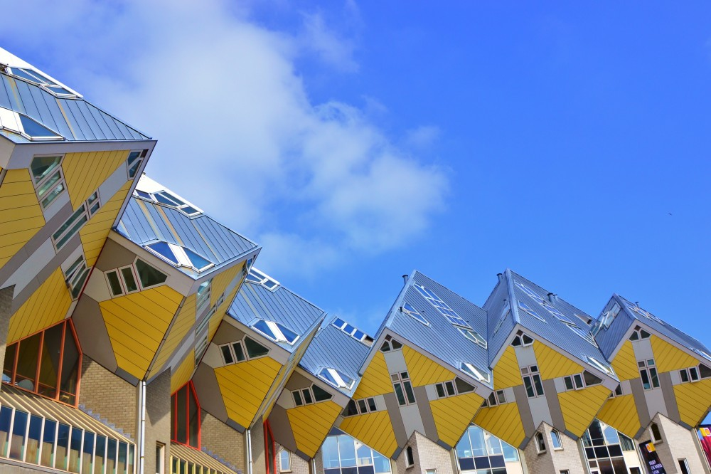 Cubic houses, Rotterdam, The Netherlands