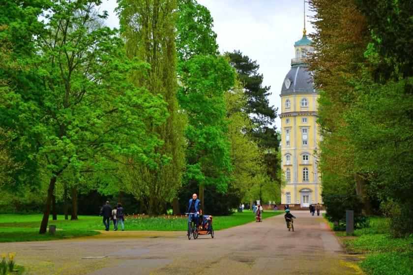 Schlossgarten, Palaca Garden, Karlsruhe, Germany