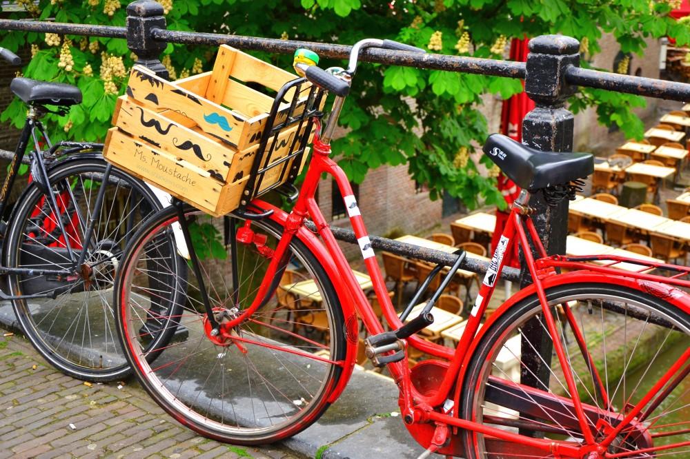 A bike in Utrecht, Holland