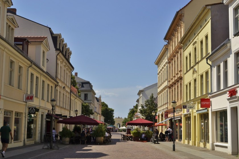 City center of Potsdam, Germany