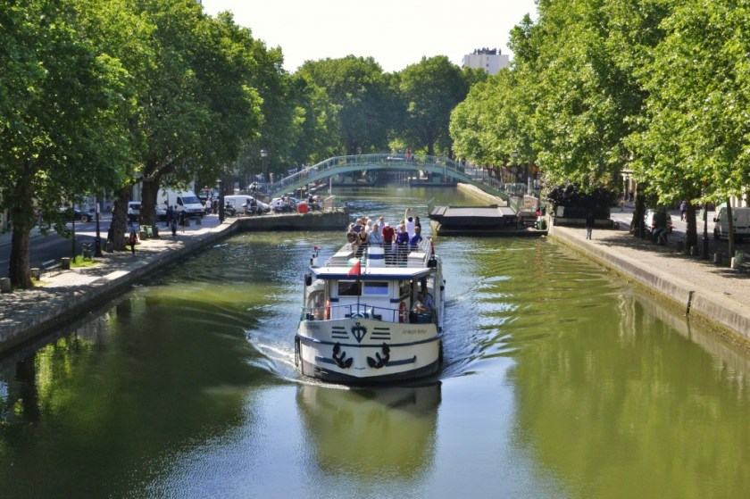 Canal Saint-Martin, Paris, France