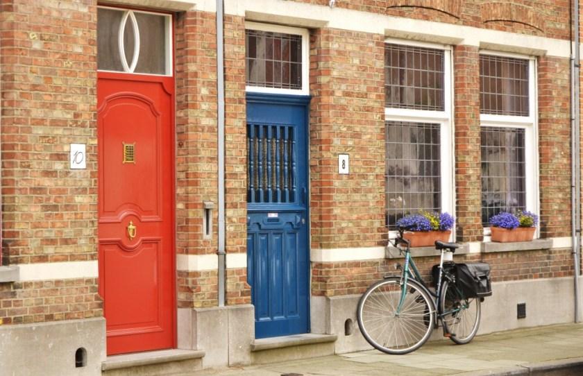 Doors in Bruges, Belgium