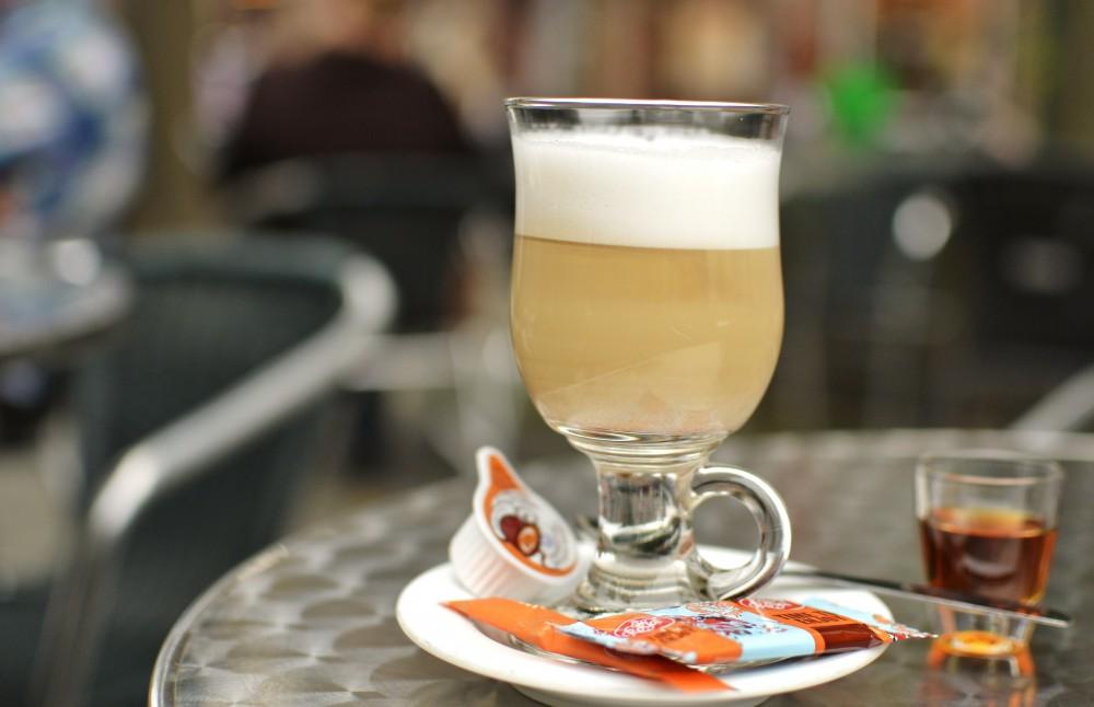 Coffee in Bruges, Belgium