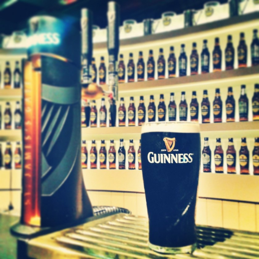 At Guinness Storehouse, Dublin, Ireland