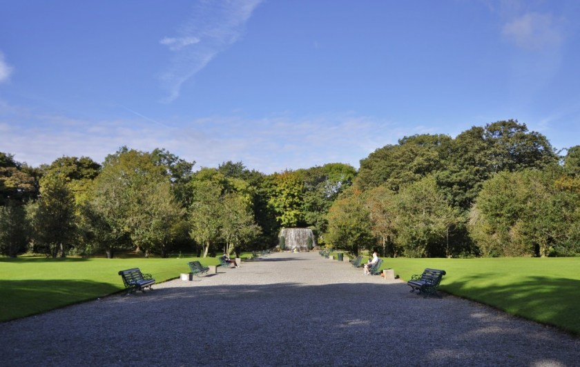 Iveagh Gardens, Dublin, Ireland