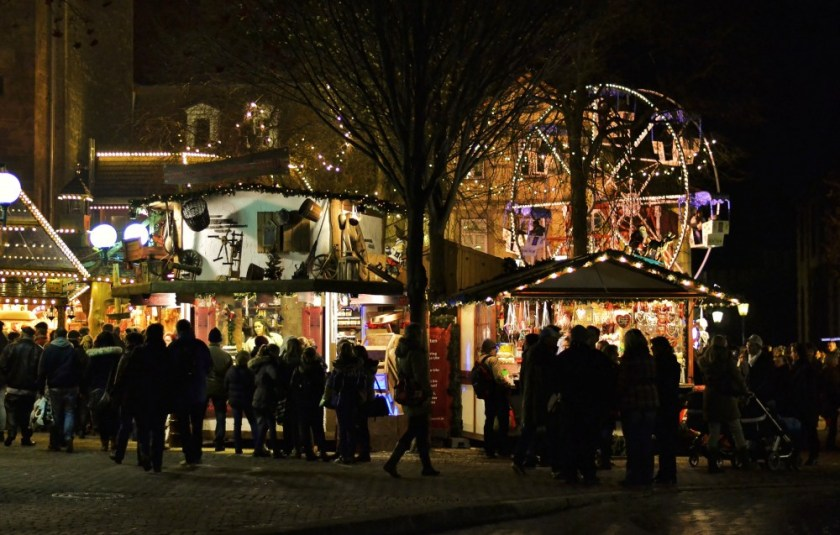 Christmas market in Göttingen, Germany