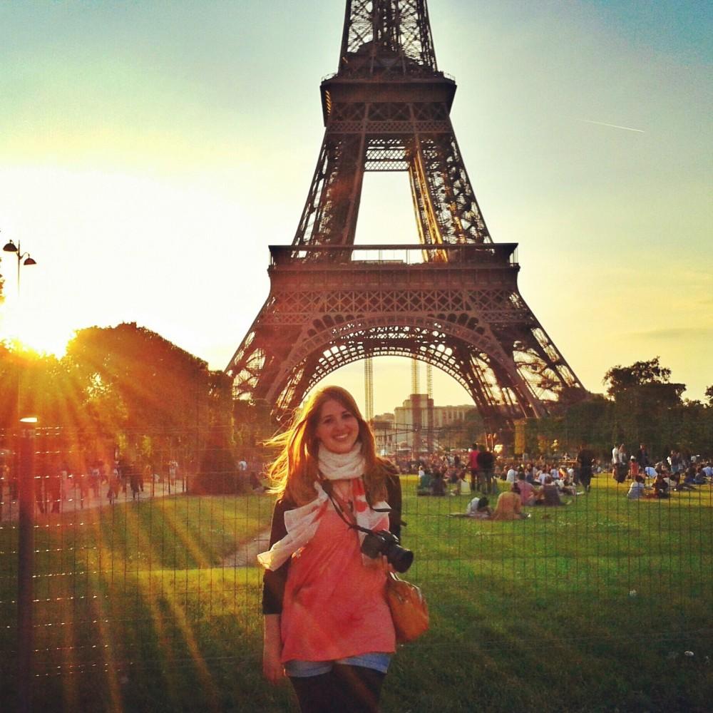 Julika in Paris, France